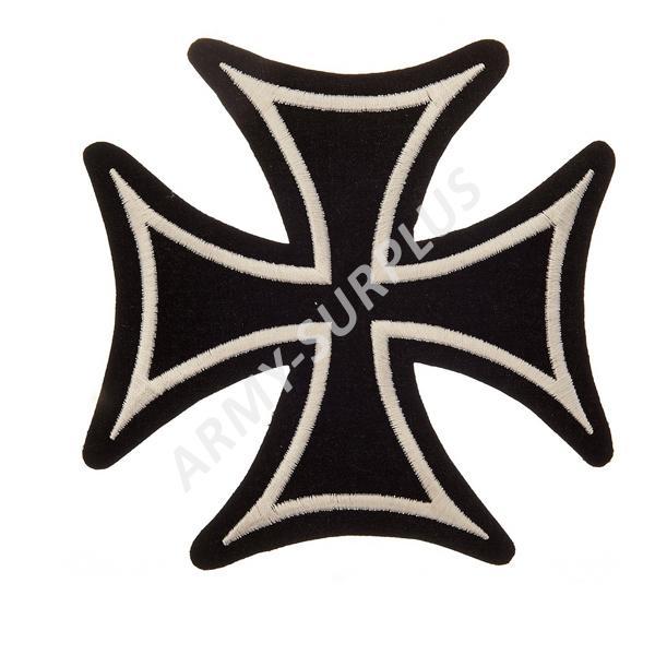 101. INC Nášivka nažehlovací kříž helvetský - velký