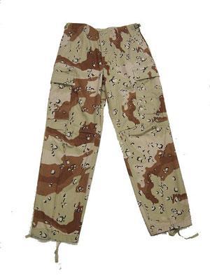 ČÍNA Kalhoty BDU 6-Color Desert (kapsáče) Velikost: S