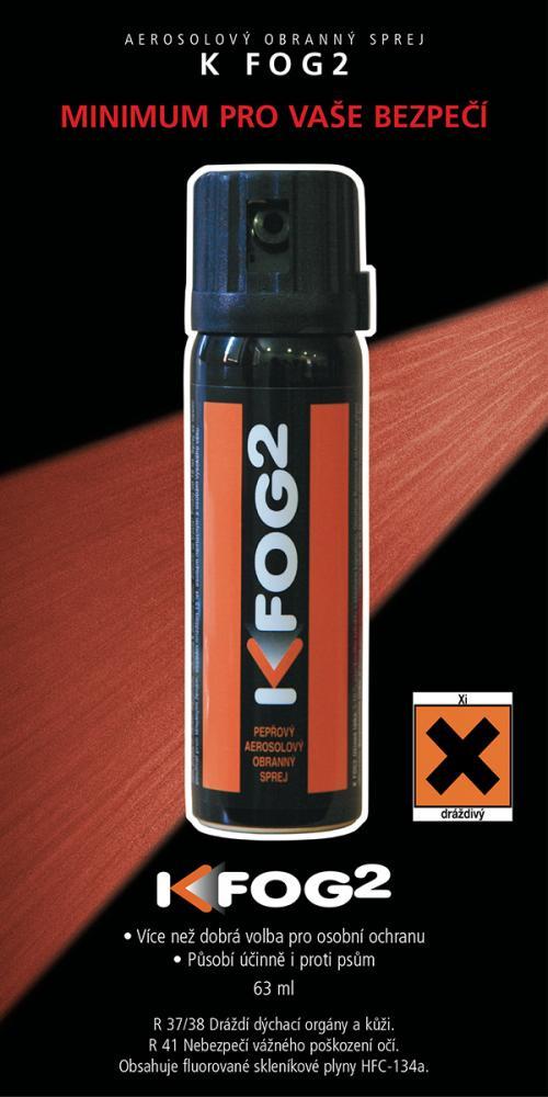 KKS-PRODUKTE GMBH Obranný pepřový sprej Fog2 63ml mlha