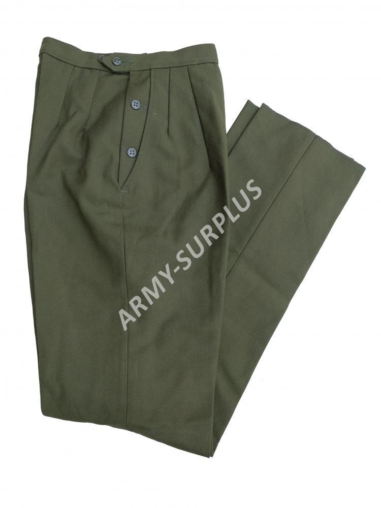 ALAMO MFG. CO., INC. Kalhoty US UTILITY vlněné dámské oliv OG-108 originál Velikost: 10