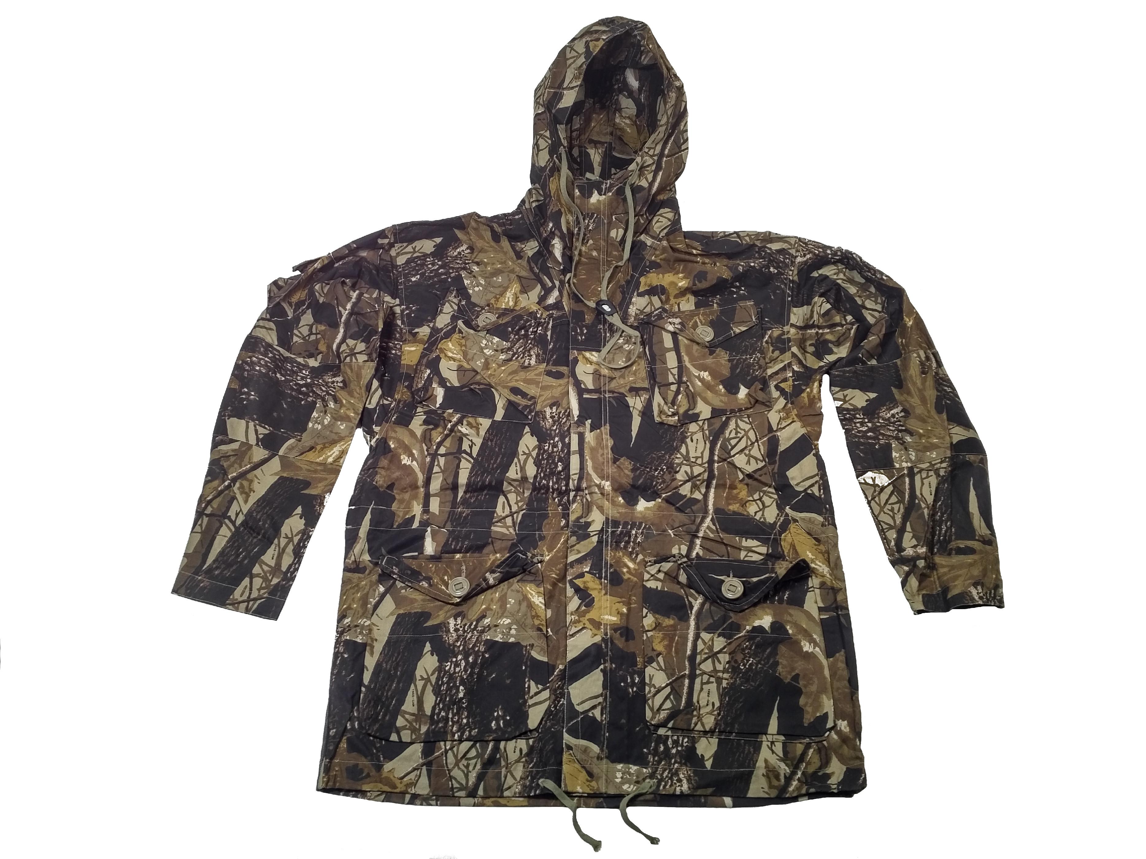 ČESKÝ VÝROBCE Bunda lovecká,parka Smock Combat Hunter Windproof s kapucí (dubové listí) Velikost: 18
