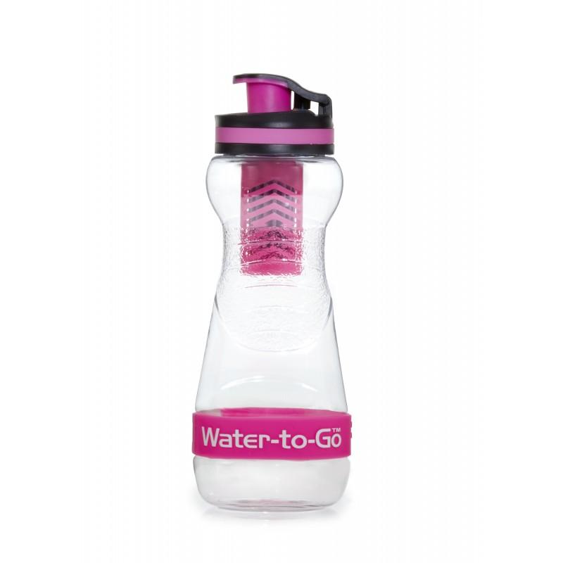 Water-to-Go filtrační láhev 50cl růžová Pink (láhev s filtrem 3v1)