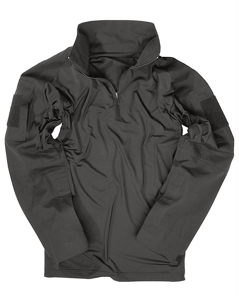 Triko (taktická košile) UBACS černé Miltec Velikost: XXL