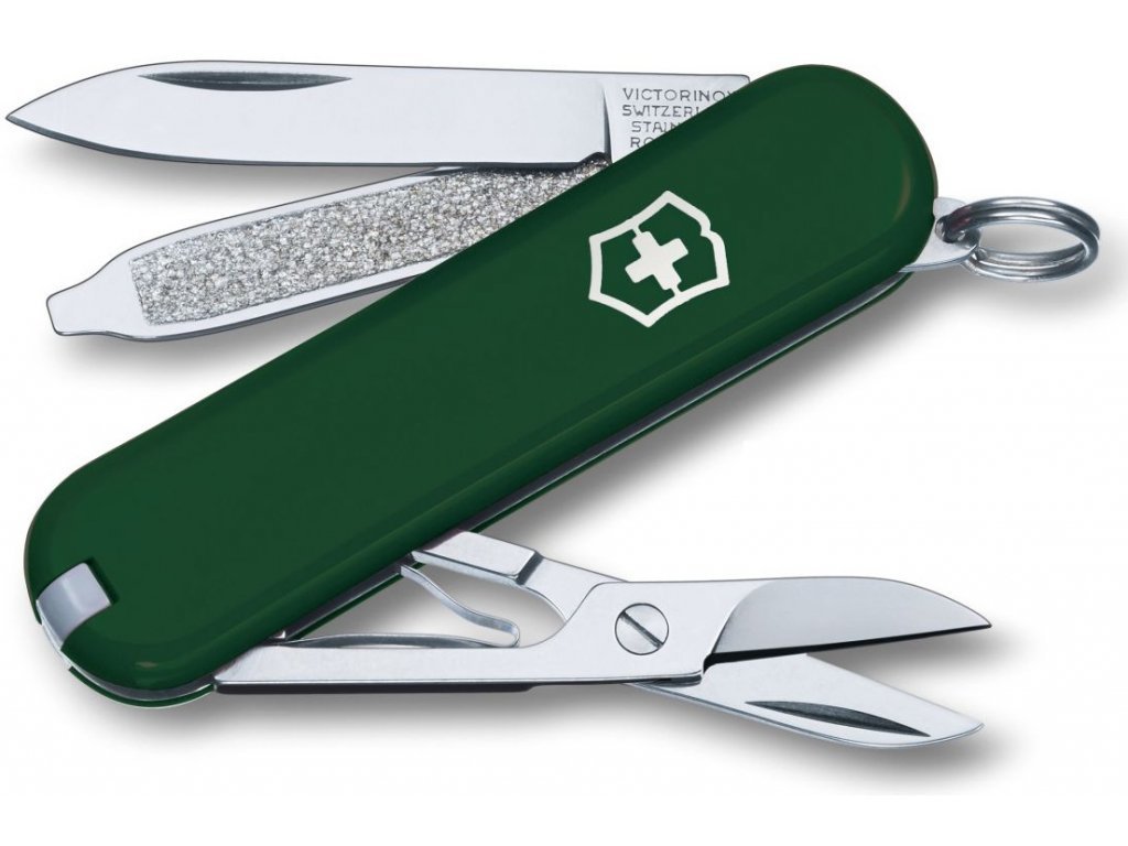 Victorinox Classic SD kapesní zavírací nůž multifunkční green zelený
