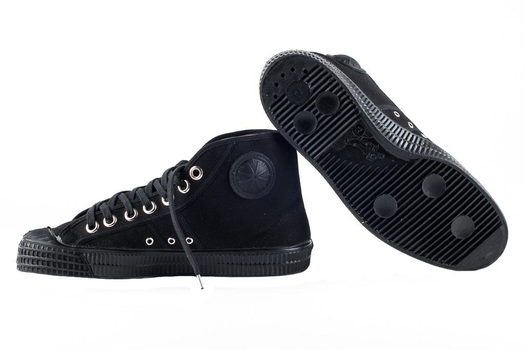 Tenisky boty Basketball kotníčkové Petreq černé Velikost: 43 (9)
