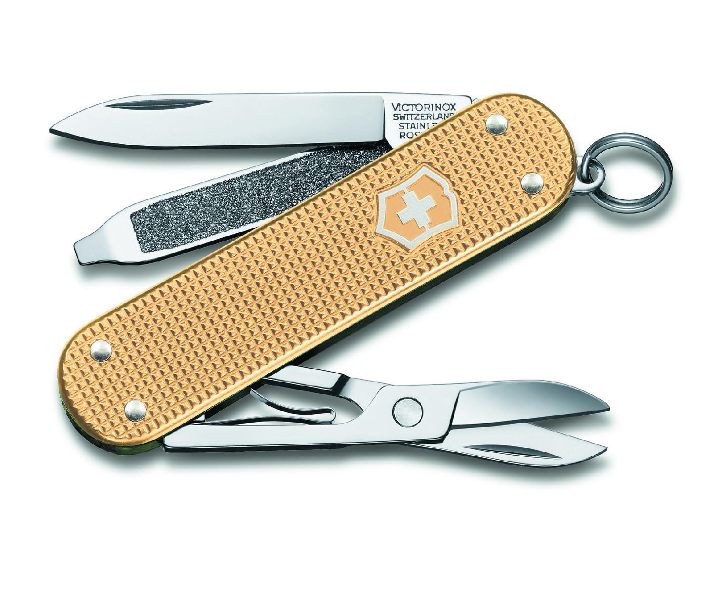Victorinox Classic Alox 2019 limitovaná edice kapesní zavírací nůž multifunkční 0.6221.L19