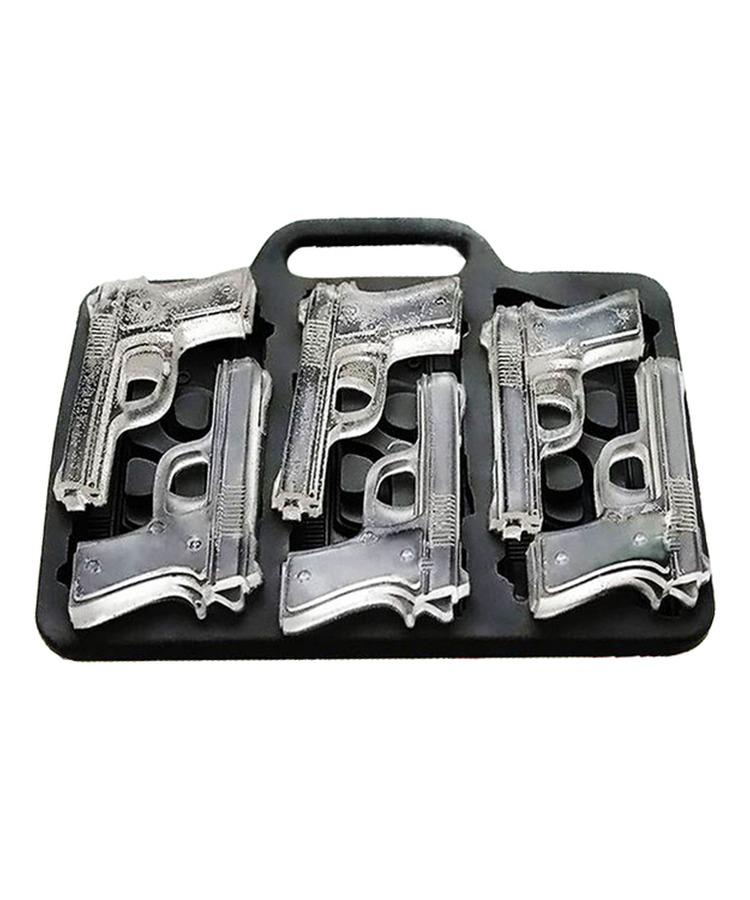 KOMBAT UK Silikonová forma na led ve tvaru pistole Kombat
