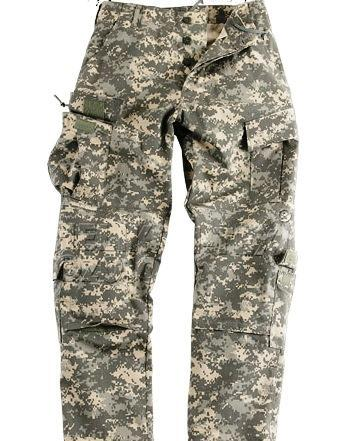 ARMÁDNÍ ORIGINÁL US ARMY Kalhoty ACU originál US ARMY AT-Digital UCP Vyberte velikost: Small-Regular