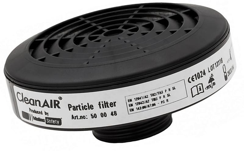Filtr protičásticový třídy P3 CleanAir na plynovou masku 40x1,7