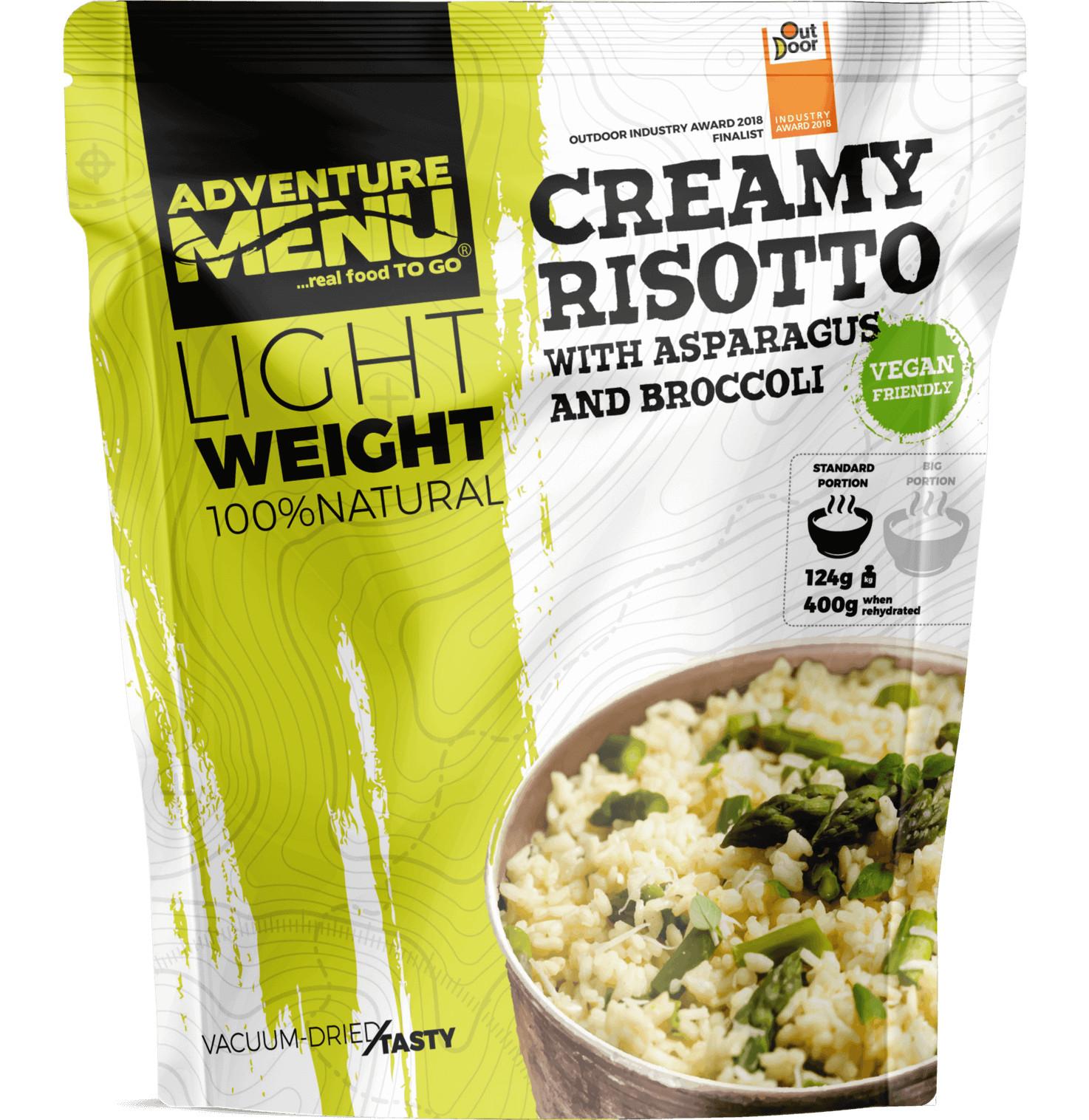 Adventure Menu Krémové rizoto s chřestem a brokolicí (hotová strava) VEGAN 400g LIGHTWEIGHT