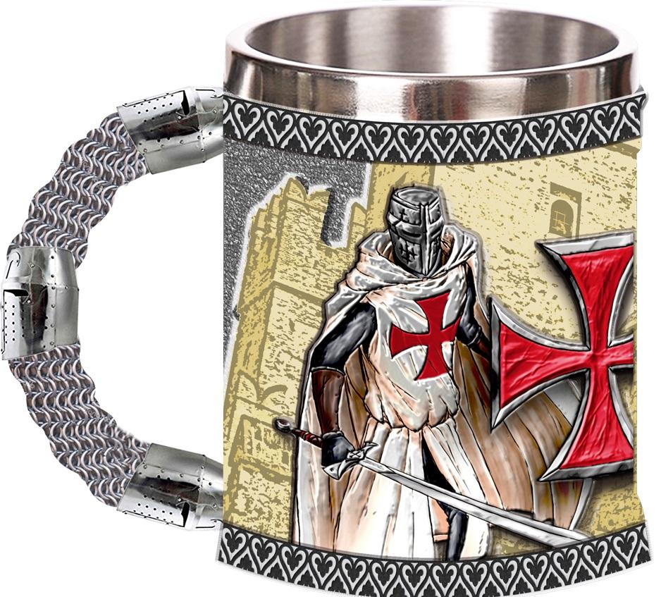 ALBAINOX Hrnek (korbel) templářských rytířů Knight Templar 400ml 39151
