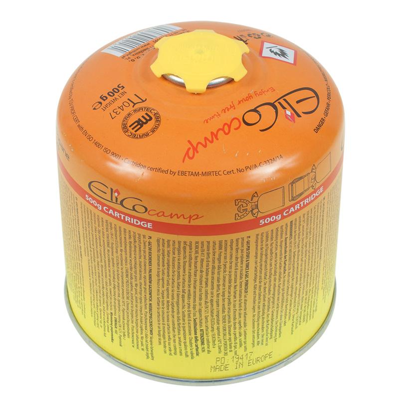 Náhradní plynová kartuš se závitem ELICOCAMP 500g