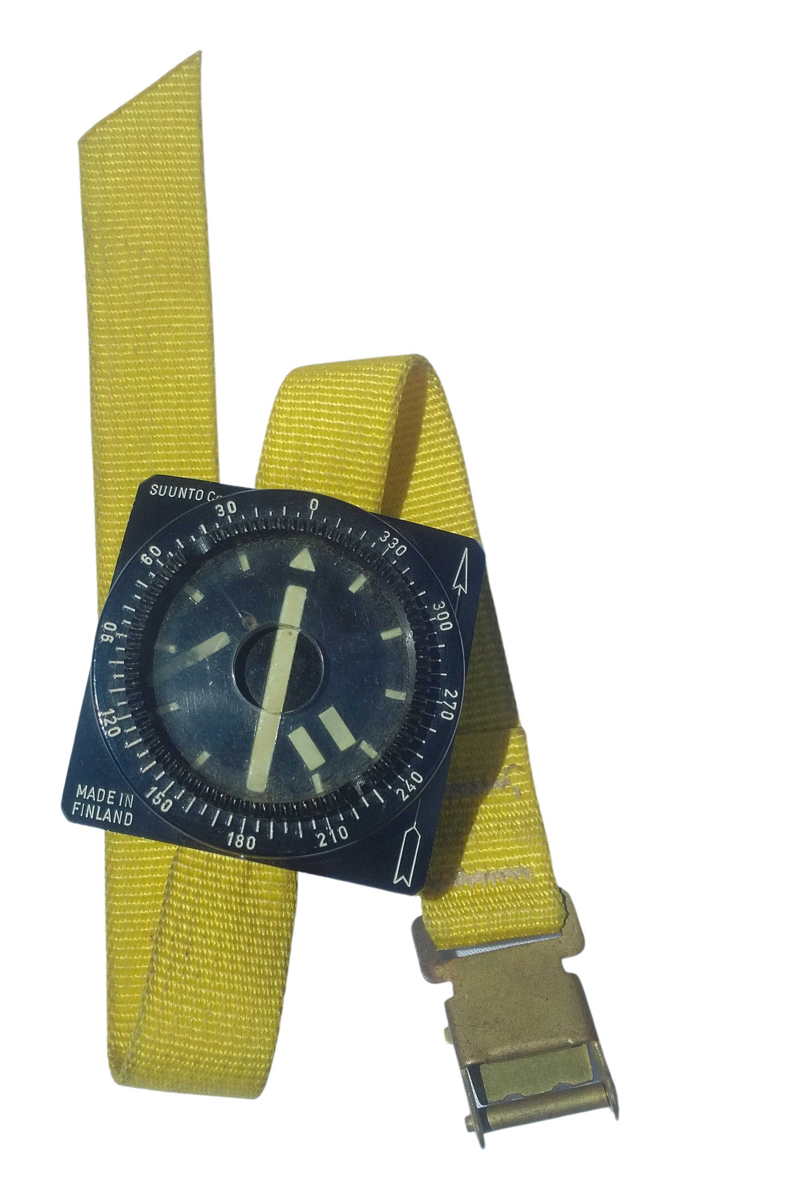 Suunto Potápěčský náramkový kompas Suntoo BARAKUDA na ruku Finsko vintage
