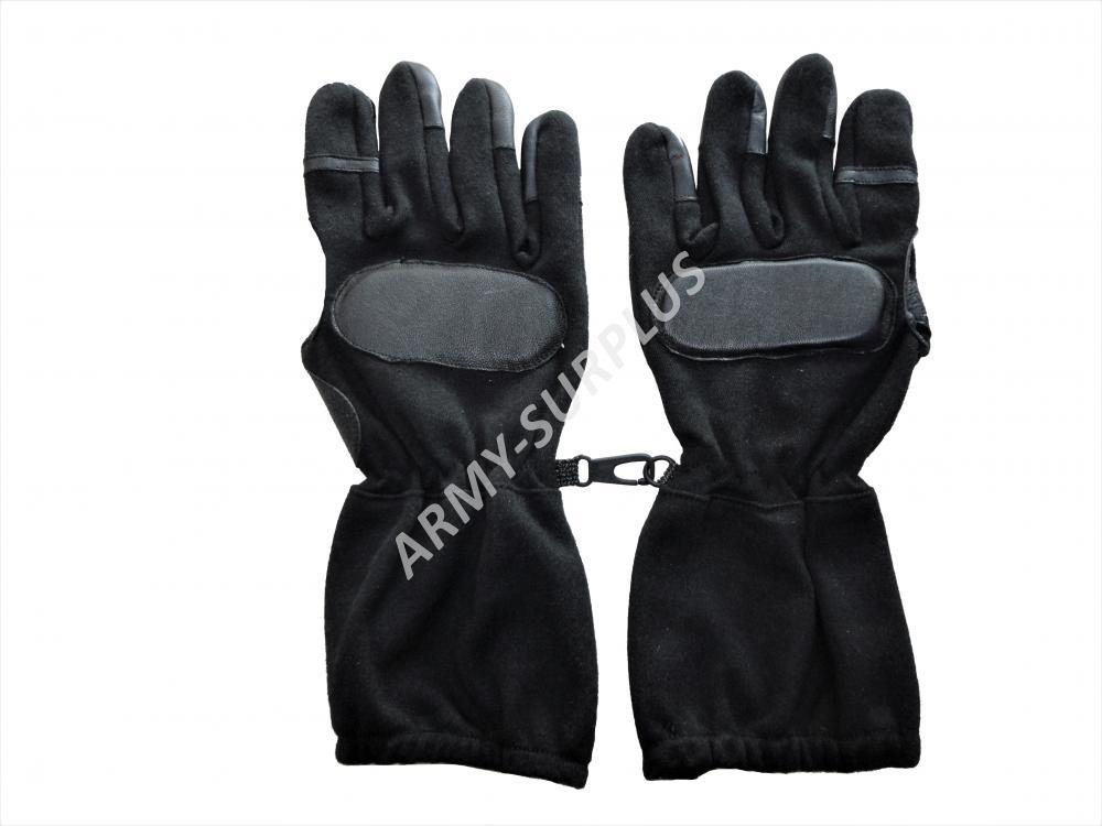 Taktické rukavice SWAT černé nomex long Velikost  L 9 301c33147d