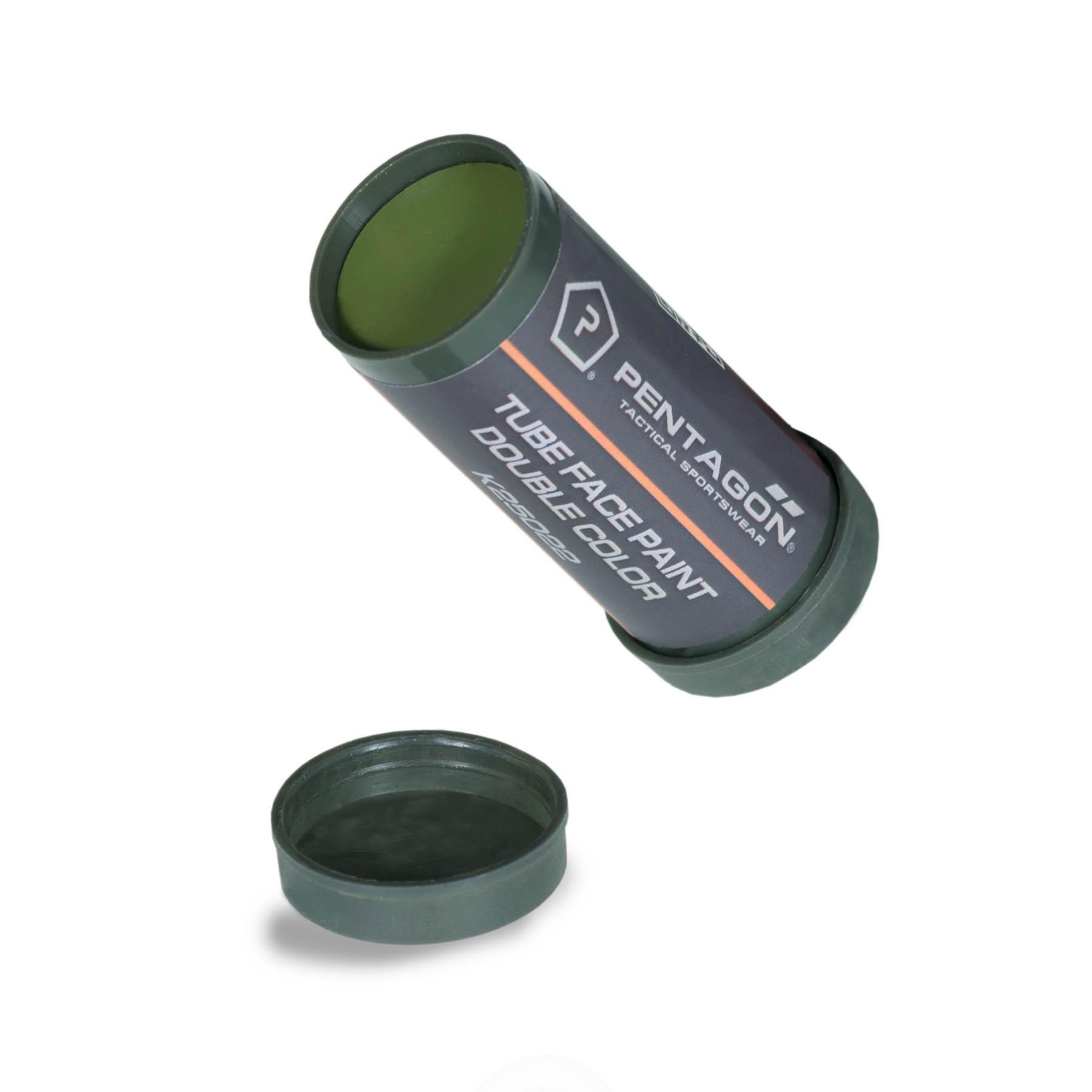 Barvy maskovací v tubě oliv/hnědá Pentagon