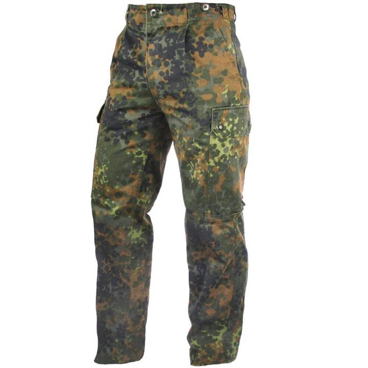 ARMÁDNÍ ORIGINÁL BW BUNDESWEHR Kalhoty BW (Bundeswehr) flecktarn originál Velikost a stav: 1 použité