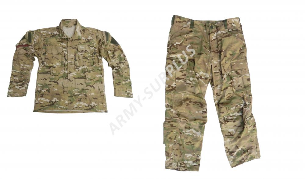 ARMÁDNÍ ORIGINÁL POLSKO Komplet multicamo ripstop letní originál Commandos Polsko Velikost kalhot: 1