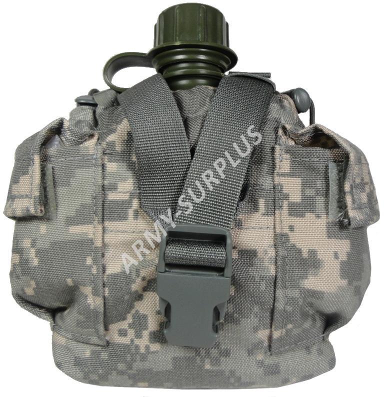 ARMÁDNÍ ORIGINÁL US ARMY Sumka US molle univerzální (na čutoru) Canteen / General Purpose ACU AT-Dig