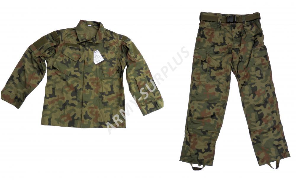 ARMÁDNÍ ORIGINÁL POLSKO Komplet wz.2010 polská armáda PANTERA WP ripstop ACU originál Vyberte veliko