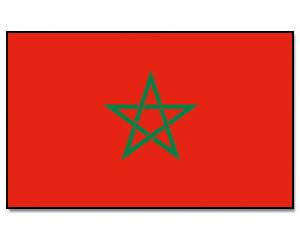PROMEX Vlajka 90x150cm Maroko č.221