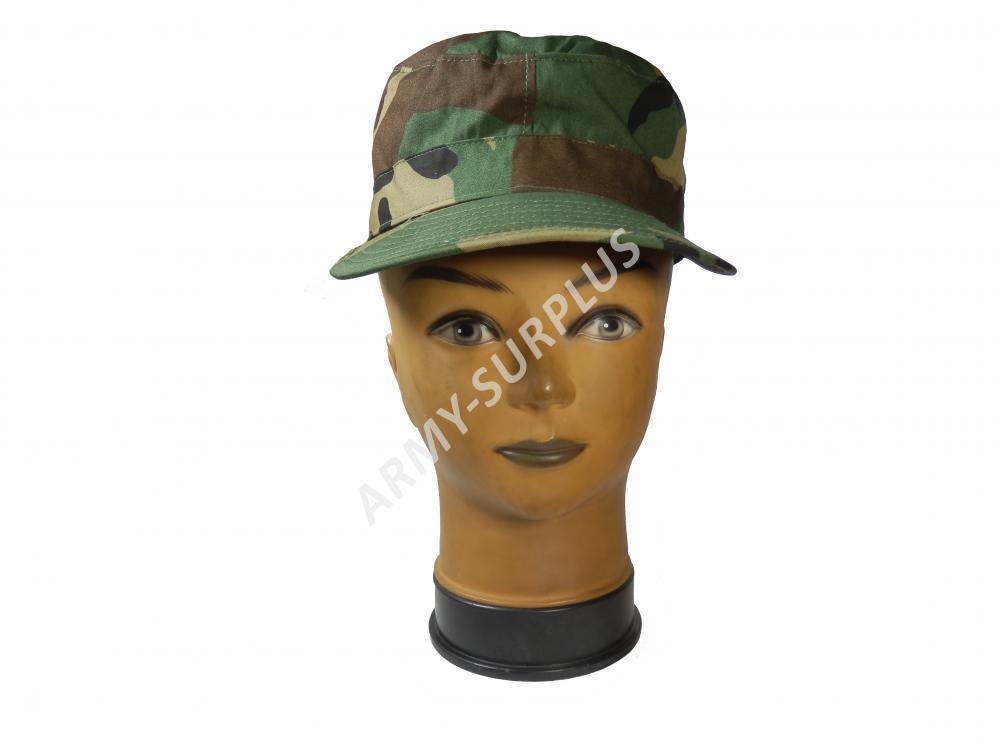 ARMÁDNÍ ORIGINÁL US ARMY Čepice US patrol woodland dětská original Velikost: 6 3/8 (51 cm)