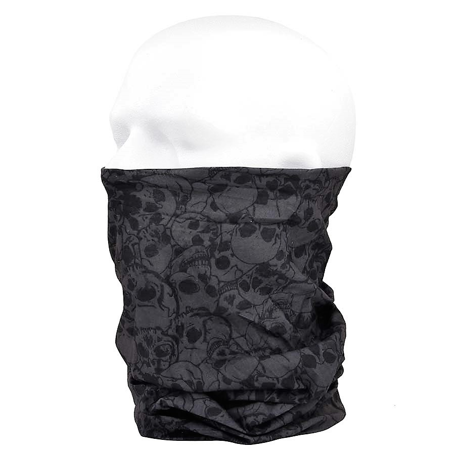 INC Nákrčník (multifunkční šátek) Coolmax lebky 101.INC černý 12 v b818506293