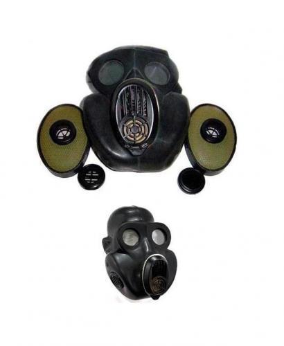 ARMÁDNÍ ORIGINÁL RUSKO Plynová maska Rusko NBC oficírska PBF černá (gorila) Velikost: 2