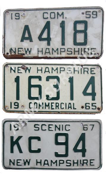ORIGINÁL USA Poznávací značka na auto (License Plates) USA New Hampshire Vietnam Varianta: 16314