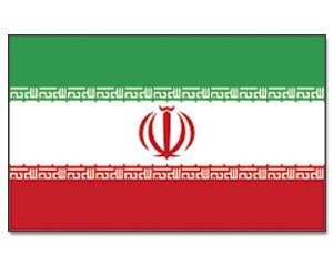 PROMEX Vlajka 90x150cm Irán č.227