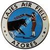 Plaketa LAJES AIR FIELD - AZORES