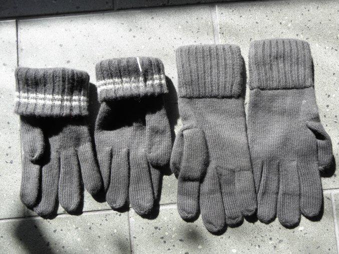 Rukavice Pletené  rakouské armády ,velikost II