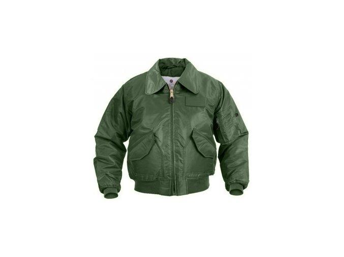 CWU pilotní bunda USAF zelená