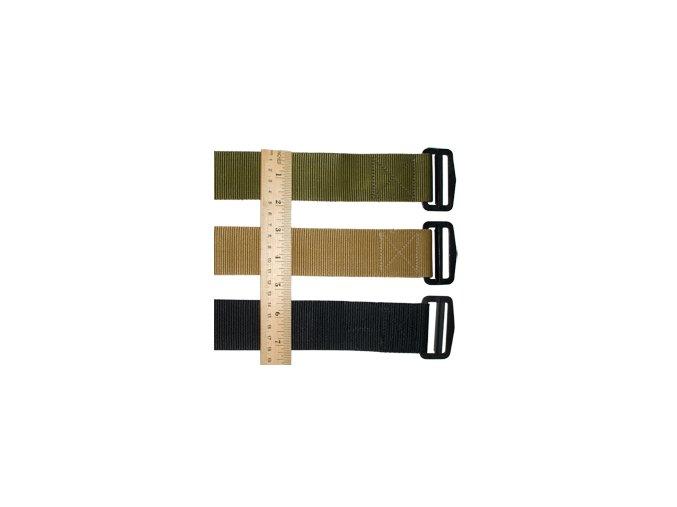 Pásek kalhotový nylonový 4,5 cm  US ARMY ,zelená barva