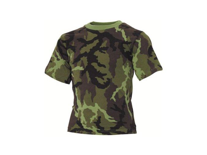 Dětské tričko v potisku vz.95 AČR