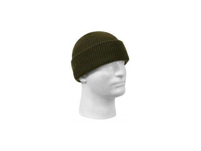 Čepice Zelená pletená