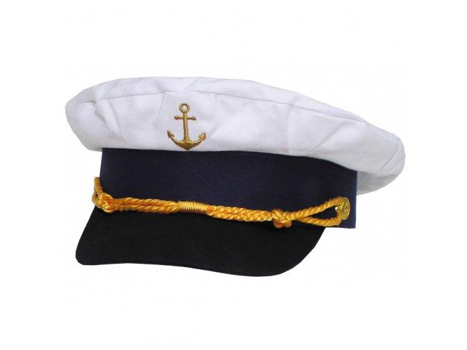 Čepice kapitánská , námořnická .