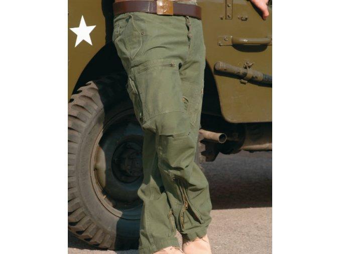 Kalhoty US  v pilotním střihu