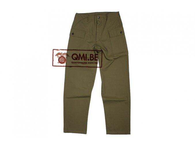 Kalhoty US ARMY HBT WWII -replika