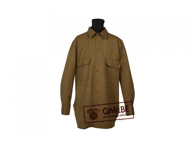 Vlněná košile US ARMY M1937 WWII -  replika