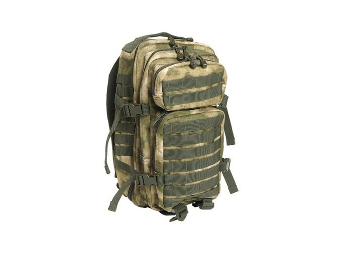 mil tec military army patrol molle assault pack tactical combat rucksack backpack bag 20l a tacs fg forest greenery advanced camouflage 301520