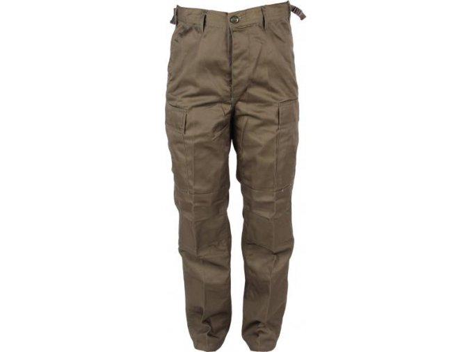 Kalhoty v tmavě zelené barvě od firmy Banner