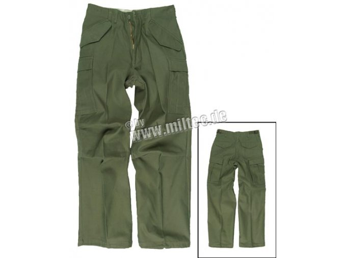 Kalhoty M65 US ARMY olivové