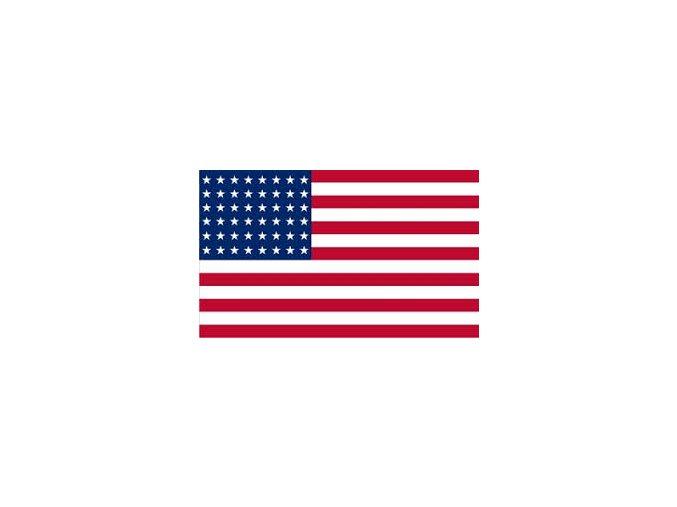 Vlajka USA ,90x150 cm, 48 hvězd .
