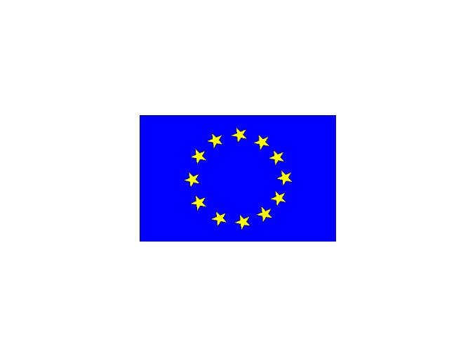 Vlajka EU ,90x150 cm,nylonová .
