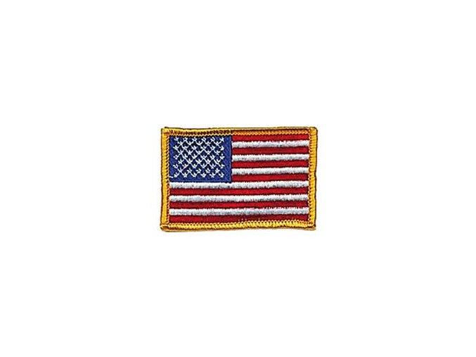 Nášivka vlajka USA barevná