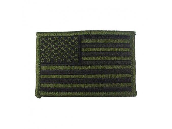 rothco nasivka us vlajka 5 x 7 5 cm zeleno cerna