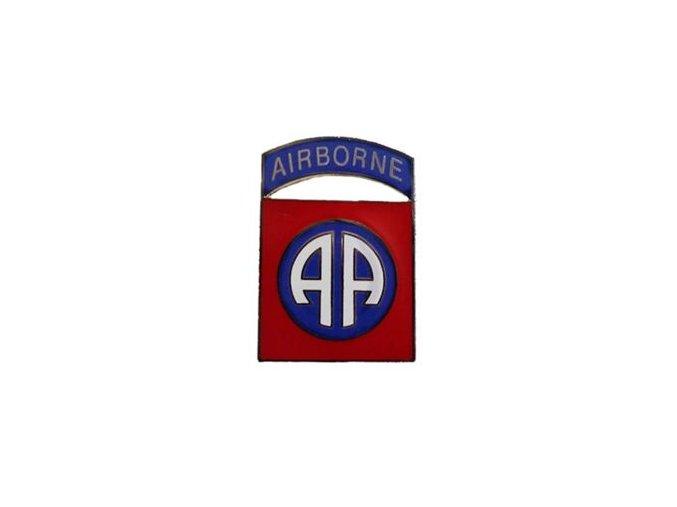 Odznáček smaltovaný 82.výsadková divize US