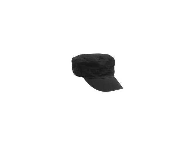 Čepice černá  s kšiltem