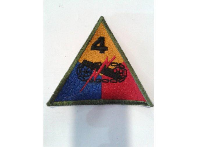 Nášivka replika - 4. obrněné divize