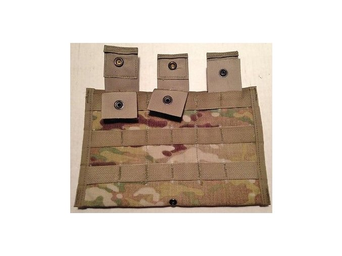 new genuine us multicam em4 triple mag pouch side x side molle ii bae systems 27da12d1f92340f9af65254fe11487d7